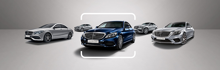 Mercedes-Benz Certified Pre-owned Vehicle.